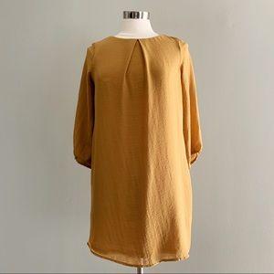 Mustard H&M Shift Dress | Size 2